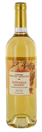 Pietri Géraud, Banyuls blanc