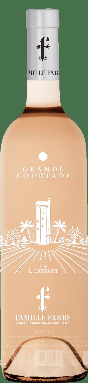 Domaine de la Grande Courtade, l'Instant rosé, 2019