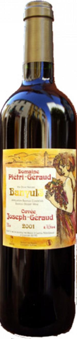 Banyuls Domaine Piétri-Géraud, Cuvée Joseph Géraud