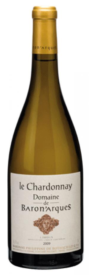 Domaine de Baron'Arques, Chardonnay, 2009